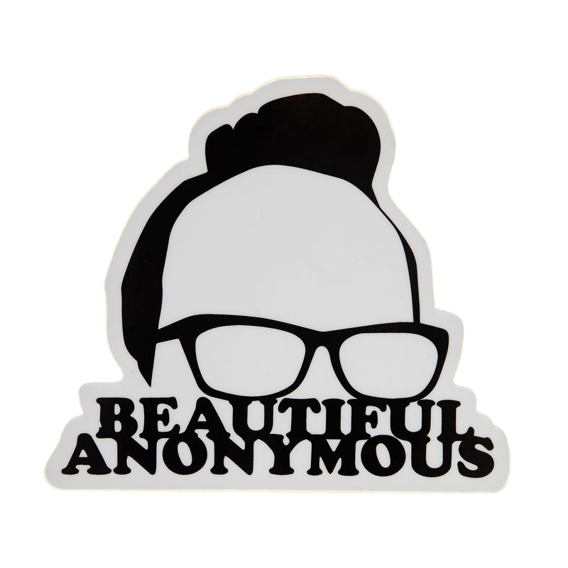 Beautiful Anonymous Decal Sticker