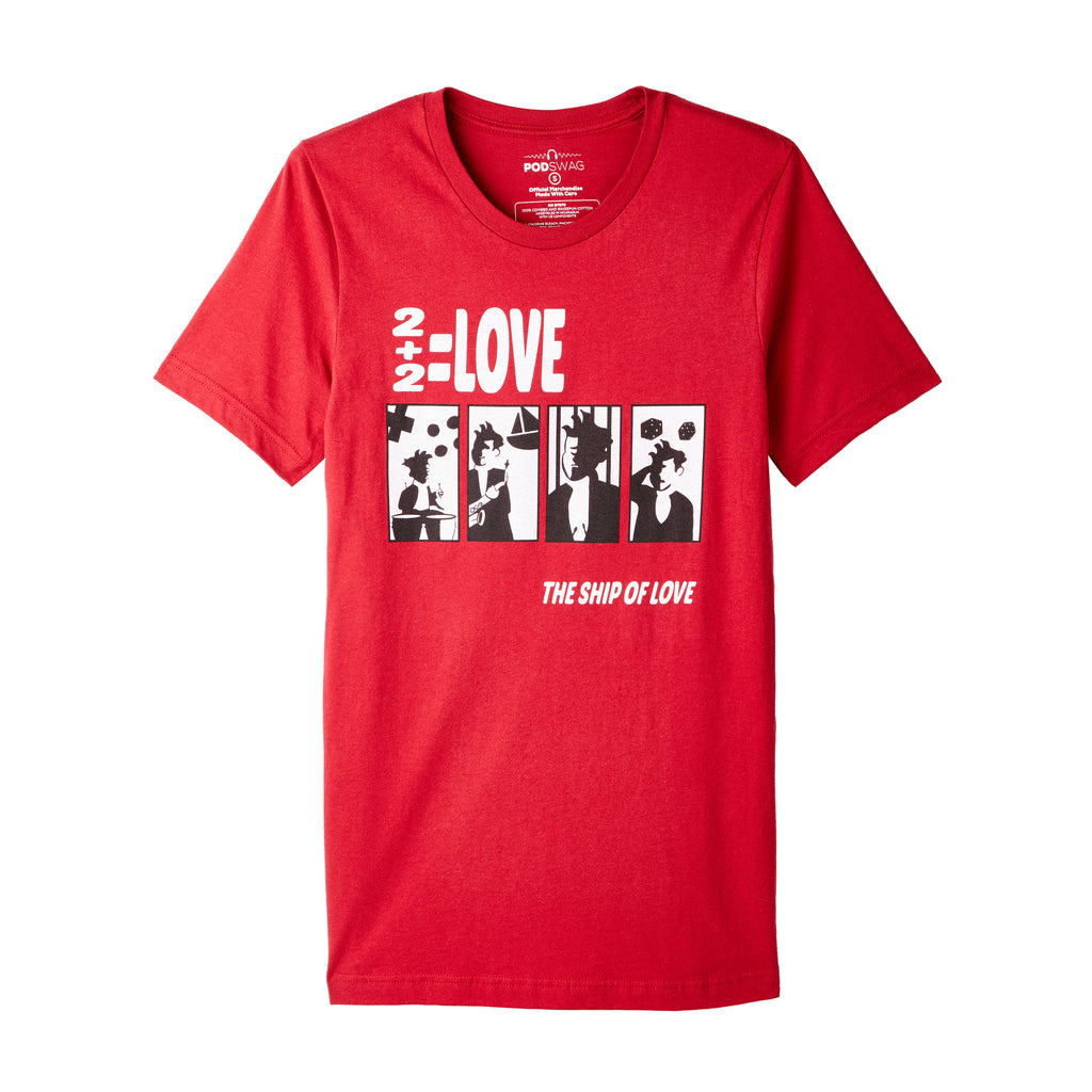 Comedy Bang Bang: Ship Of Love T-shirt
