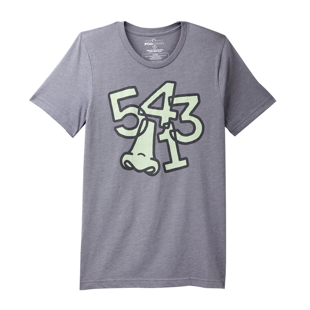 Comedy Bang Bang: 5, 4, 3, nose, 1 T-shirt