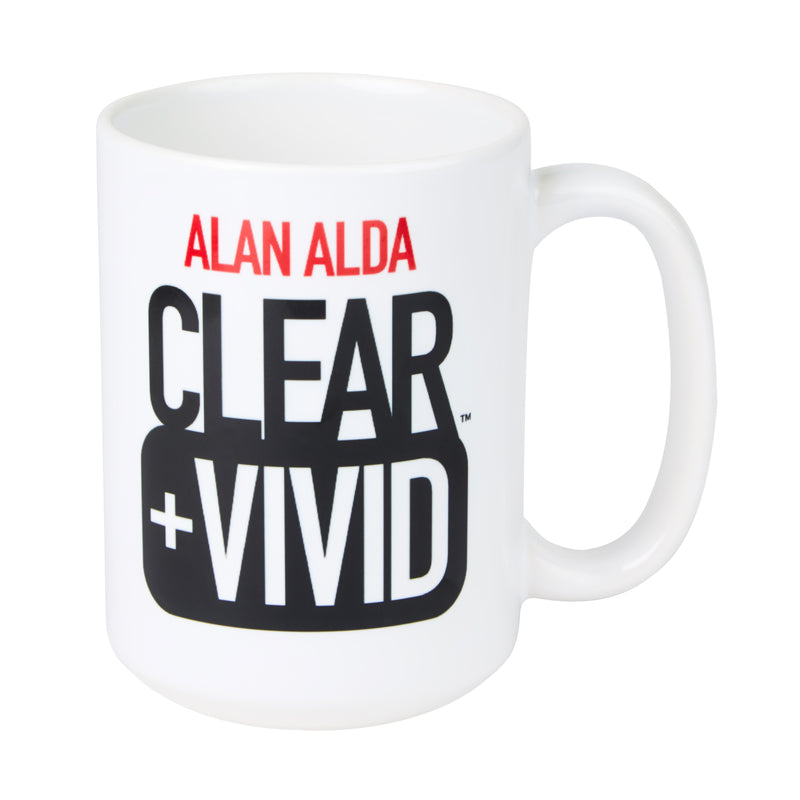 Clear + Vivid: Coffee Mug