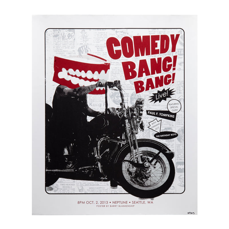 Comedy Bang! Bang! Limited Edition Poster