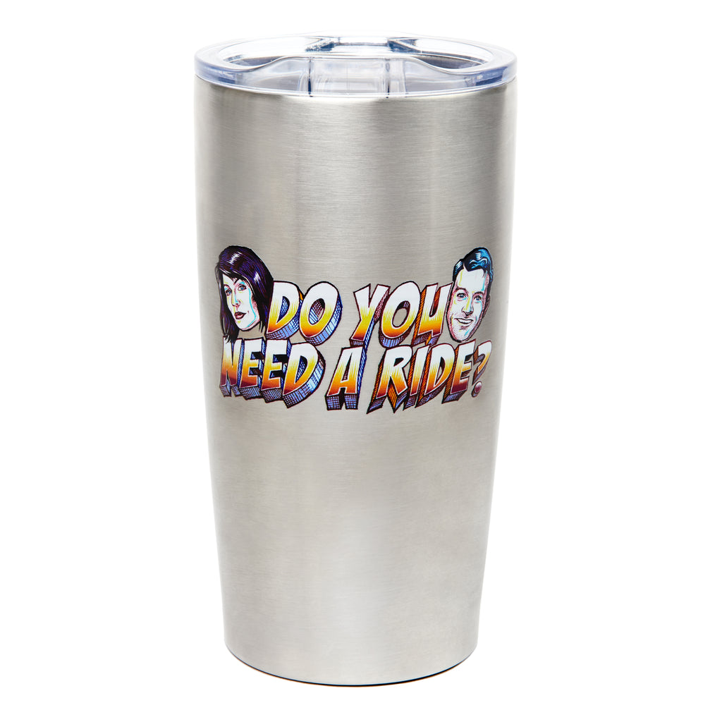 Do You Need a Ride: Travel Mug