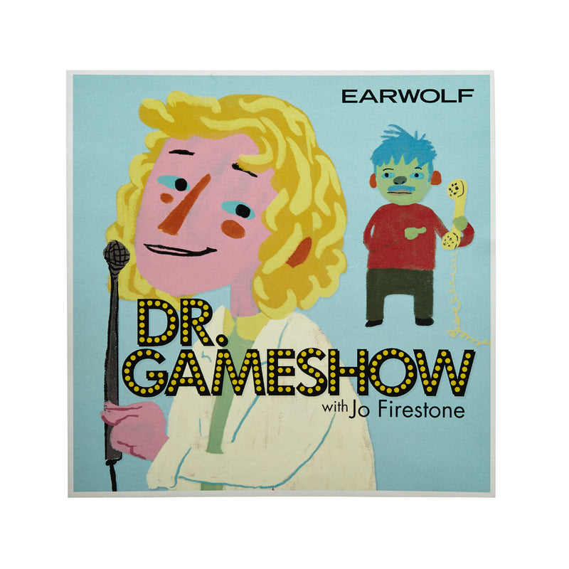 SIGNED Dr. Gameshow Poster