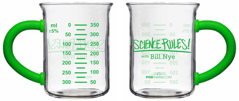 Science Rules: Beaker Glass