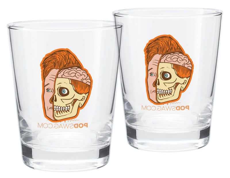 Inside Conan: Mirror Print Tumbler - Set of 2