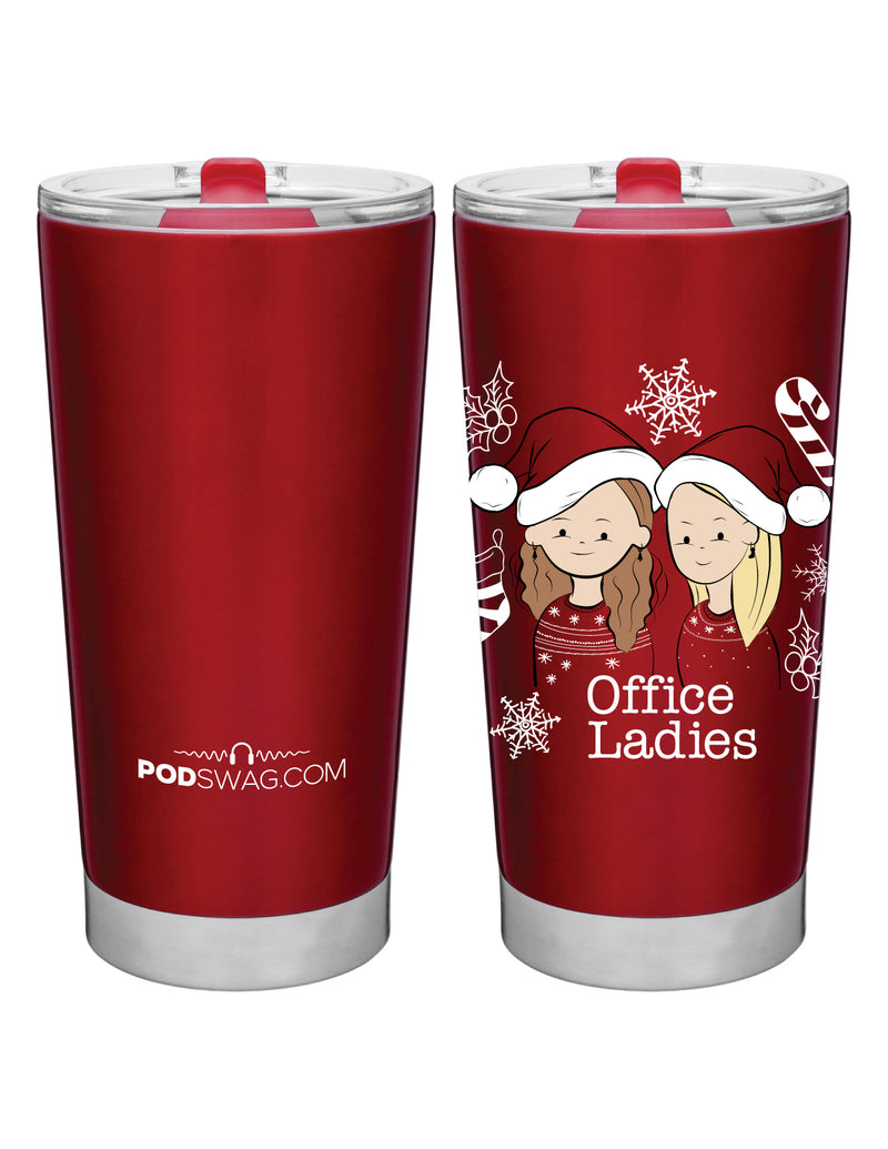 Office Ladies: Holiday Tumbler