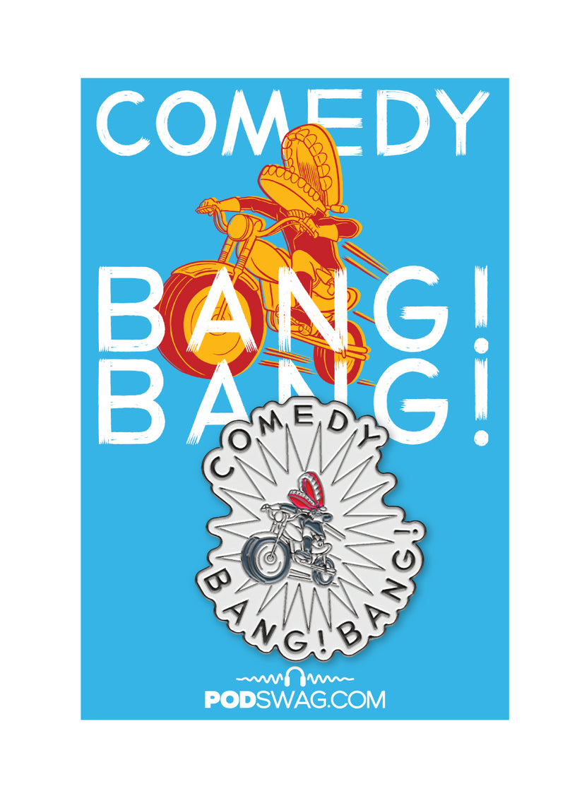 Comedy Bang Bang: Enamel Pin
