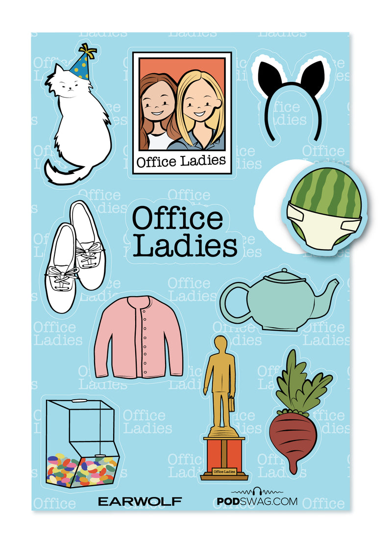 Office Ladies: Sticker Sheet
