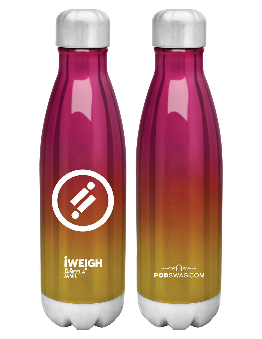iWeigh: Stainless Bottle