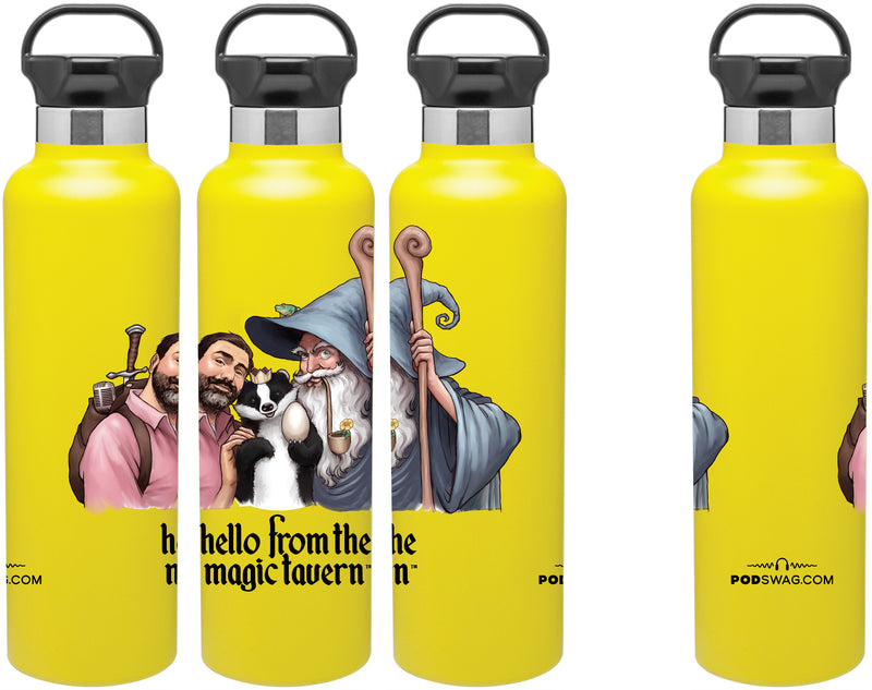 Hello From The Magic Tavern: Stainless Bottle