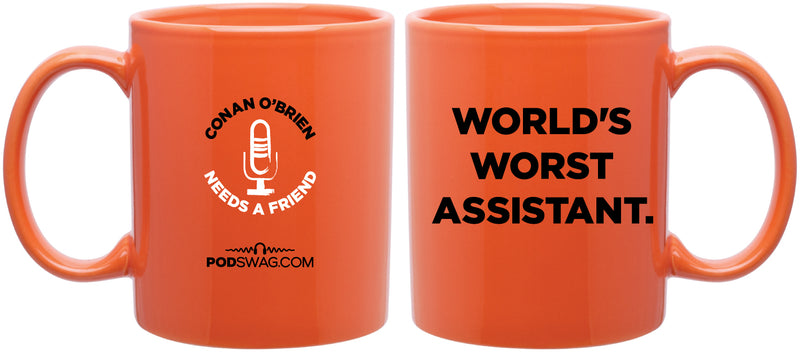 Conan O'Brien Needs A Friend: World's Worst Mug