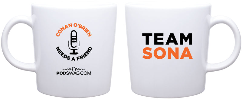 Conan O'Brien Needs A Friend: Team Sona Mug