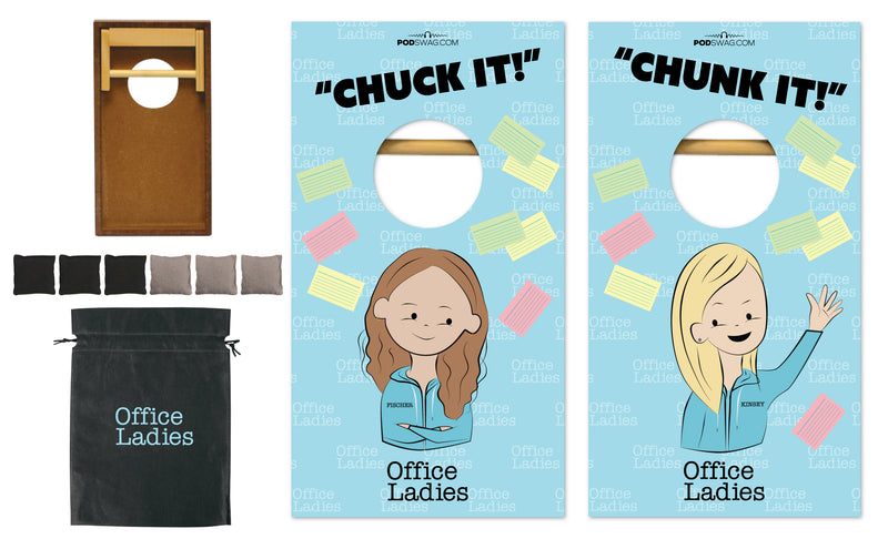 Office Ladies: Desk Cornhole Set