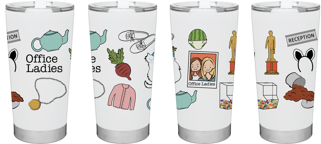 Office Ladies: Icons Stainless Tumbler