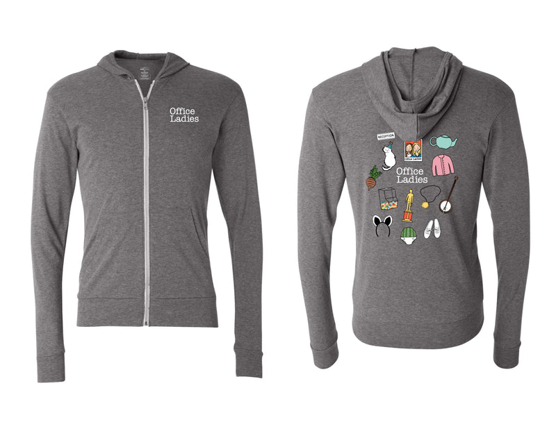 Office Ladies: Icons Zip Hoodie