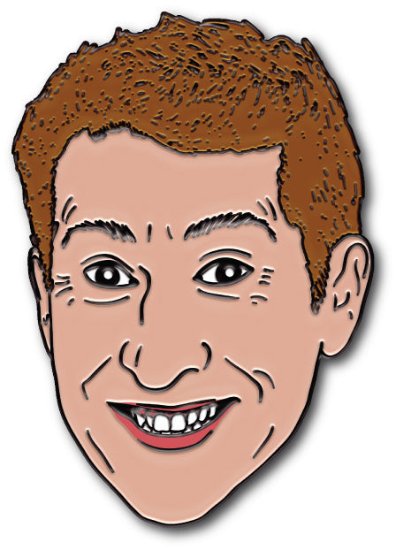 Scott Aukerman Enamel Pin