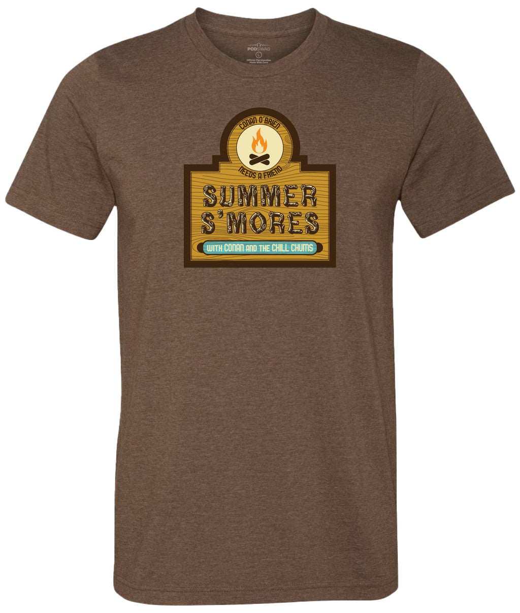 Conan O'Brien Needs A Friend: Summer S'mores T-shirt