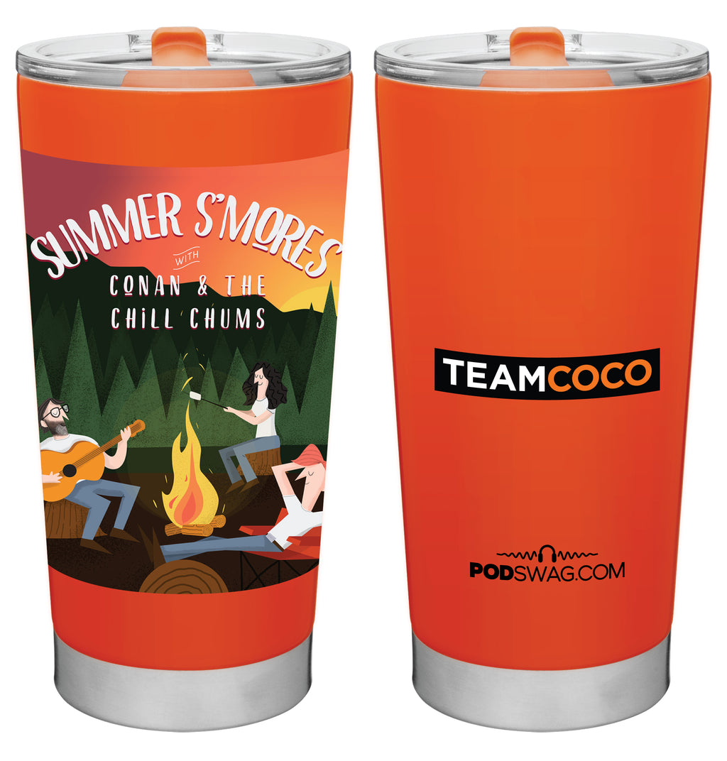 Conan O'Brien Needs A Friend: Summer S'mores Tumbler