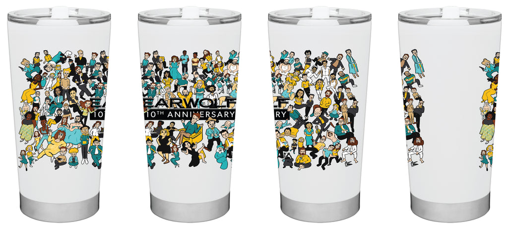Earwolf: 10th Anniversary Tumbler