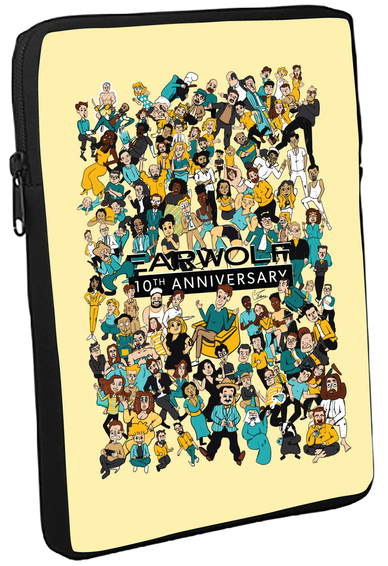 Earwolf: 10th Anniversary Tablet Sleeve