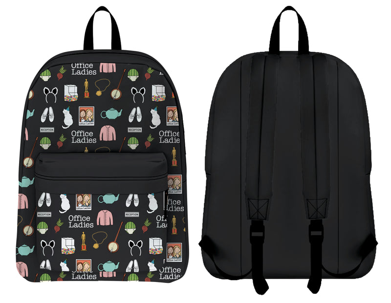 Office Ladies: Black Backpack