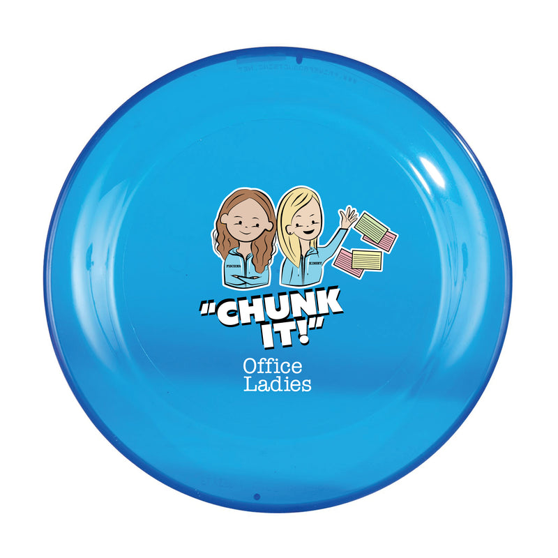 Office Ladies: Chunk It Frisbee
