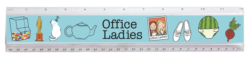 Office Ladies: Ruler