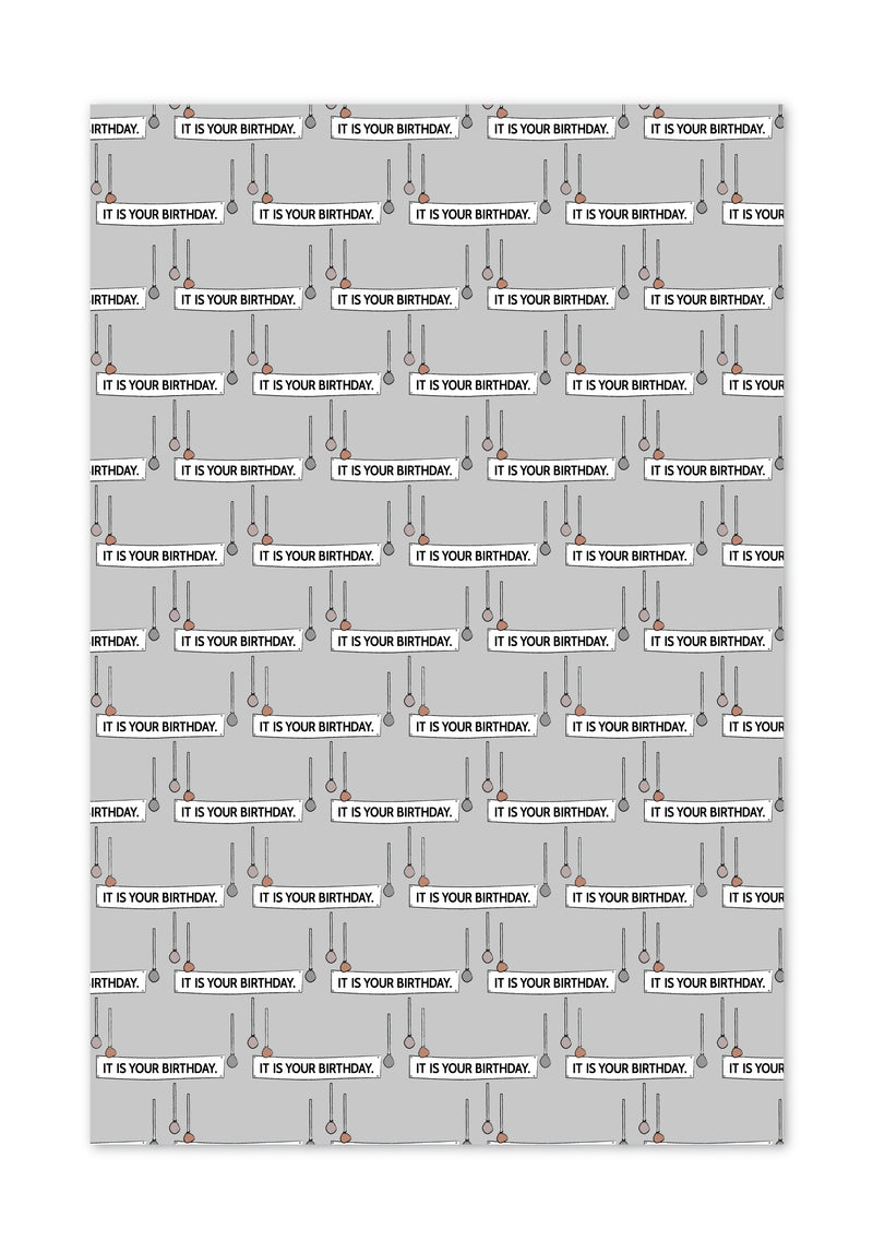 Office Ladies: Birthday Wrapping Paper