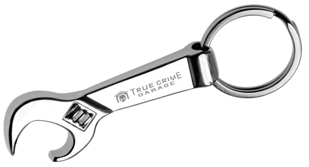 True Crime Garage: Wrench Opener Keychain