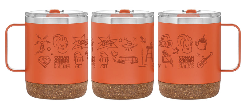 Conan O'Brien Needs A Friend: Icons Cork Mug