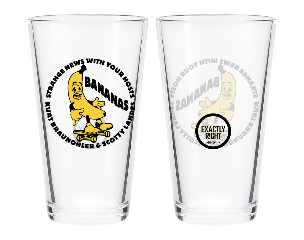 Bananas: Pint Glass