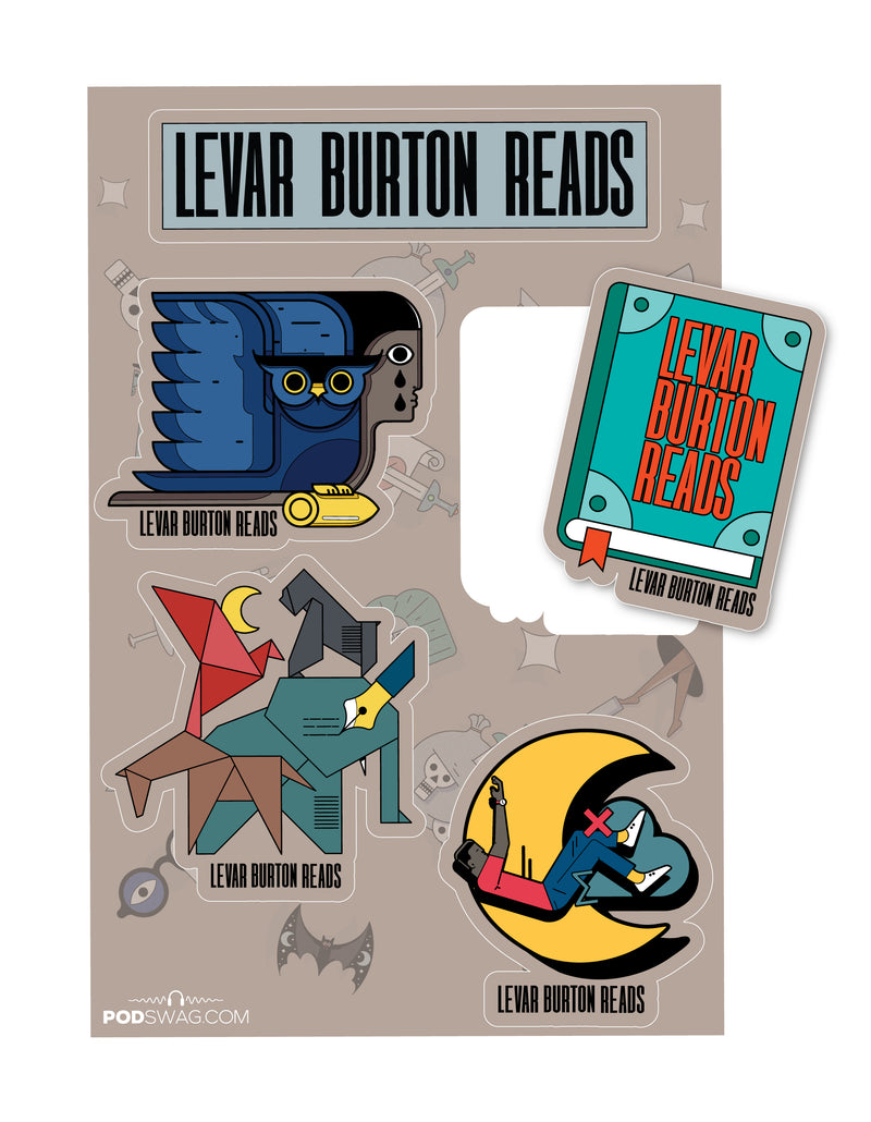LeVar Burton Reads: Sticker Sheet