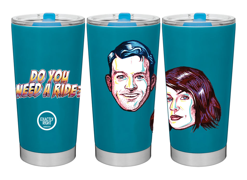 Do You Need A Ride: Blue Tumbler