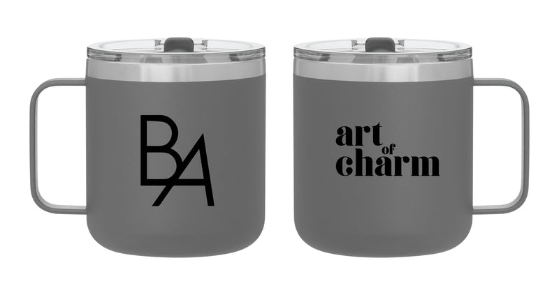 Art of Charm: Stainless Mug