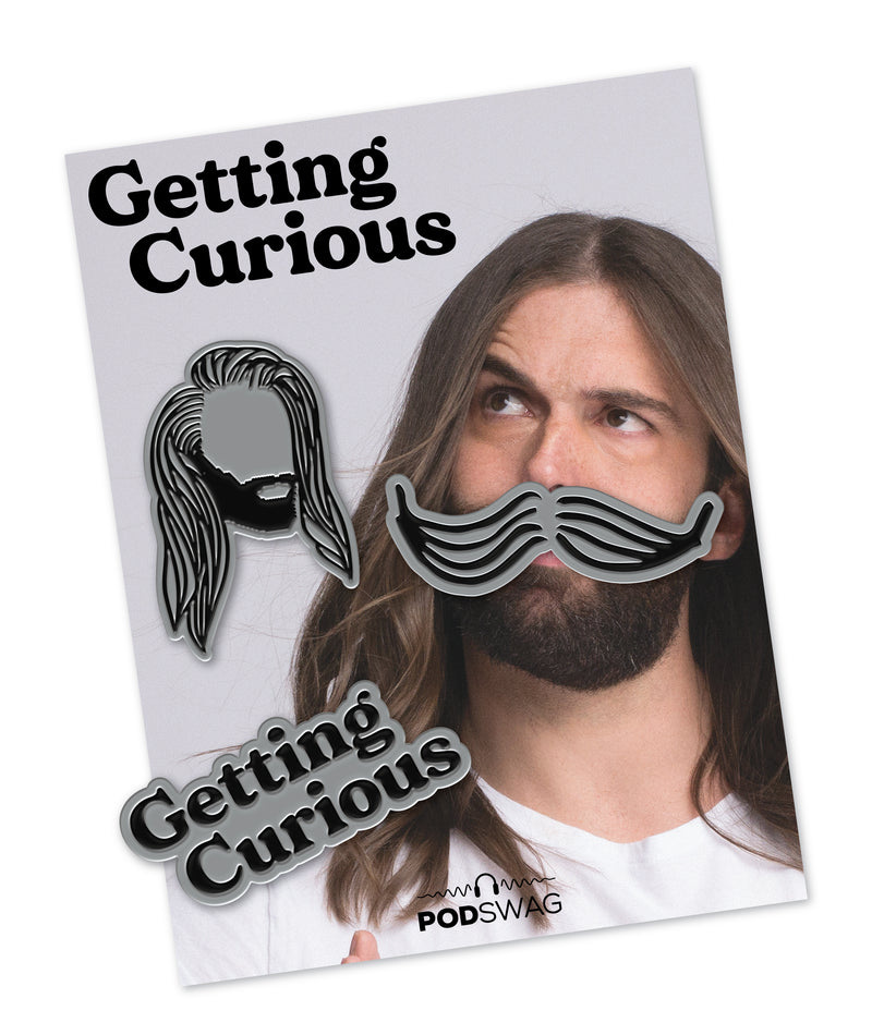 Getting Curious: Enamel Pin Set