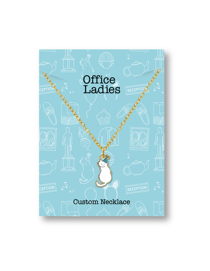 Office Ladies: Enamel Sprinkles Necklace