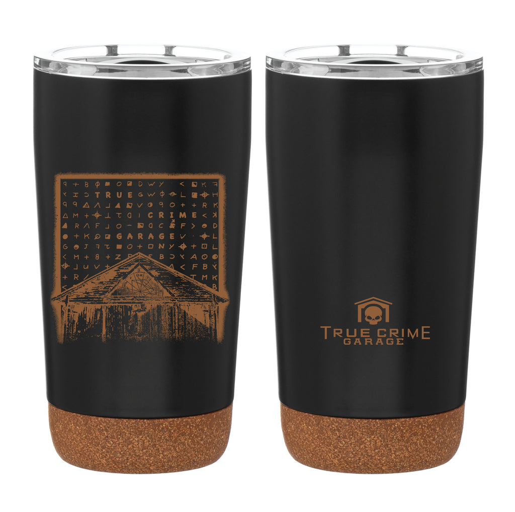 True Crime Garage: Cork Tumbler