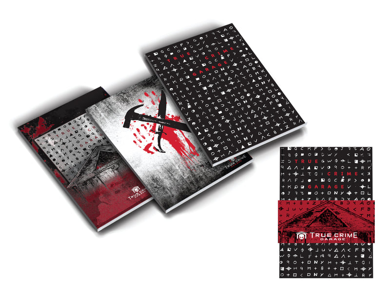 True Crime Garage: Mini Notebook Set