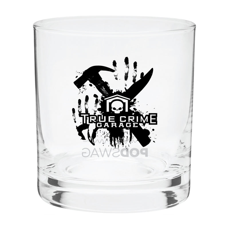 Truce Crime Garage: Logo Glass