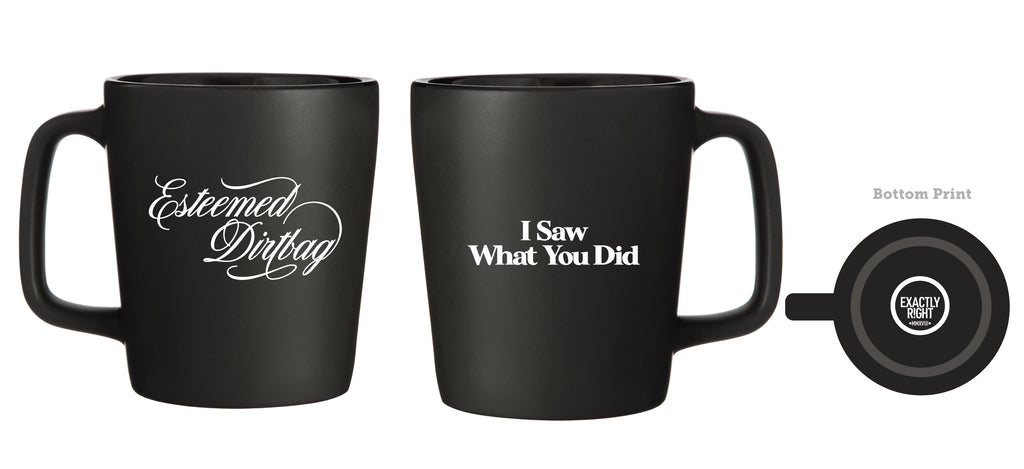 I Saw What You Did: Mug