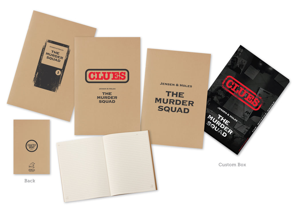 Jensen & Holes: The Murder Squad Notebook Set