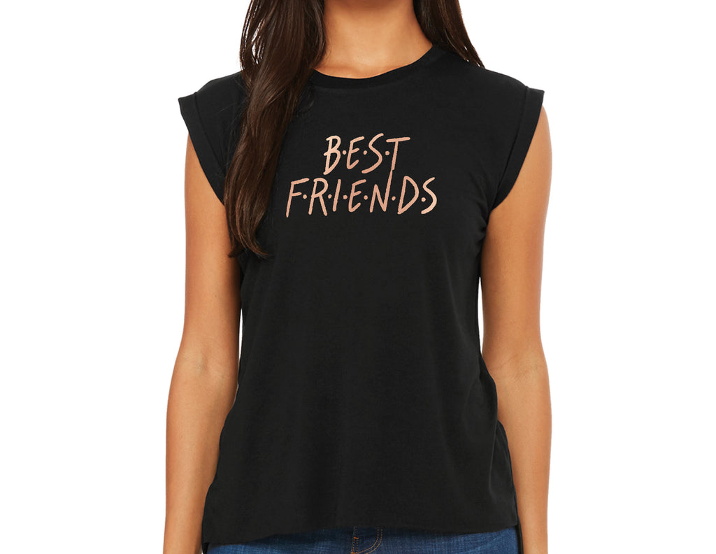 Best Friends: Ladies Muscle Tee