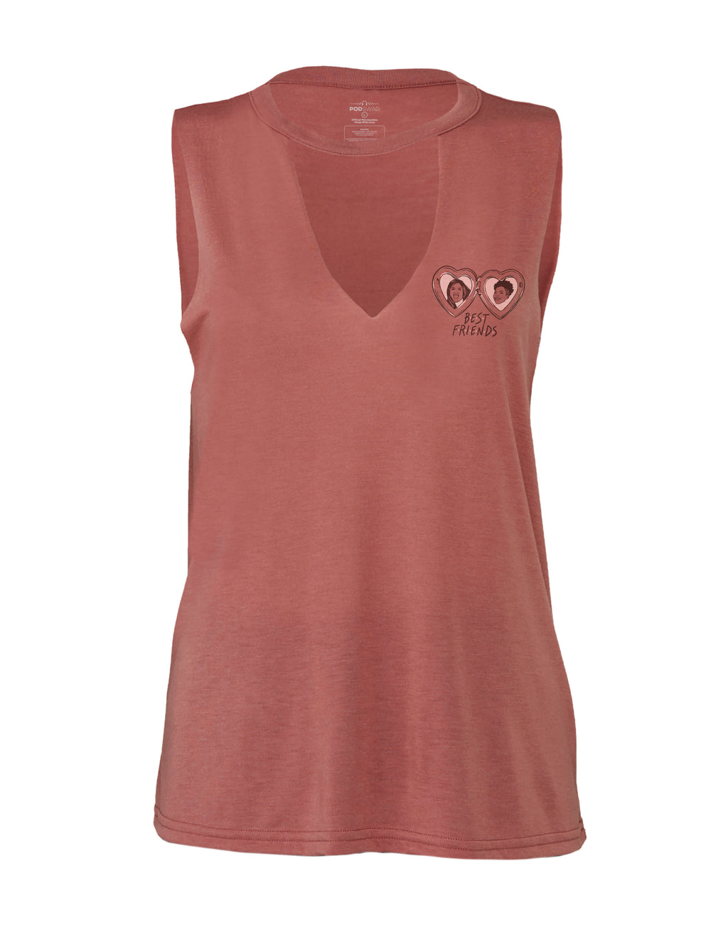 Best Friends: Pocket Locket Tank