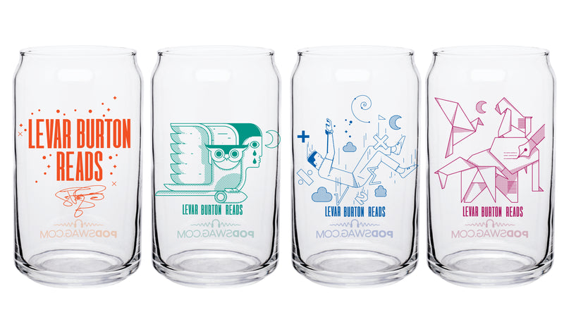 LeVar Burton Reads: Pint Glass Set