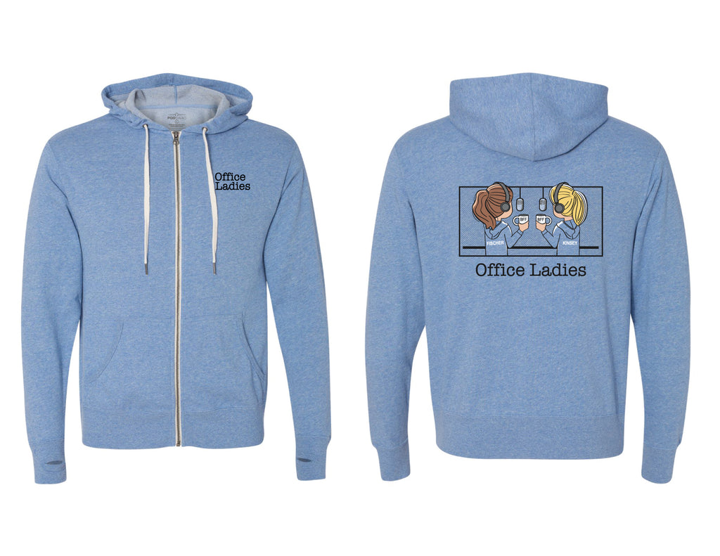 Office Ladies: Zip Hoodie