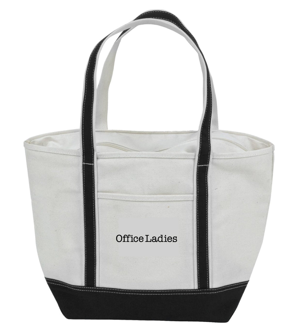 Office Ladies: Zippered Tote