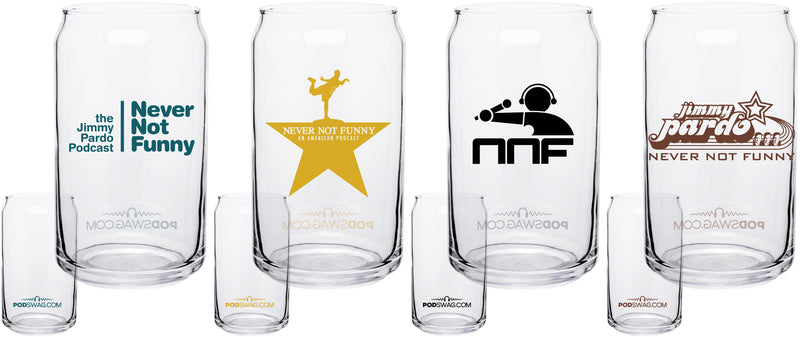 Never Not Funny: Pint Glass Set
