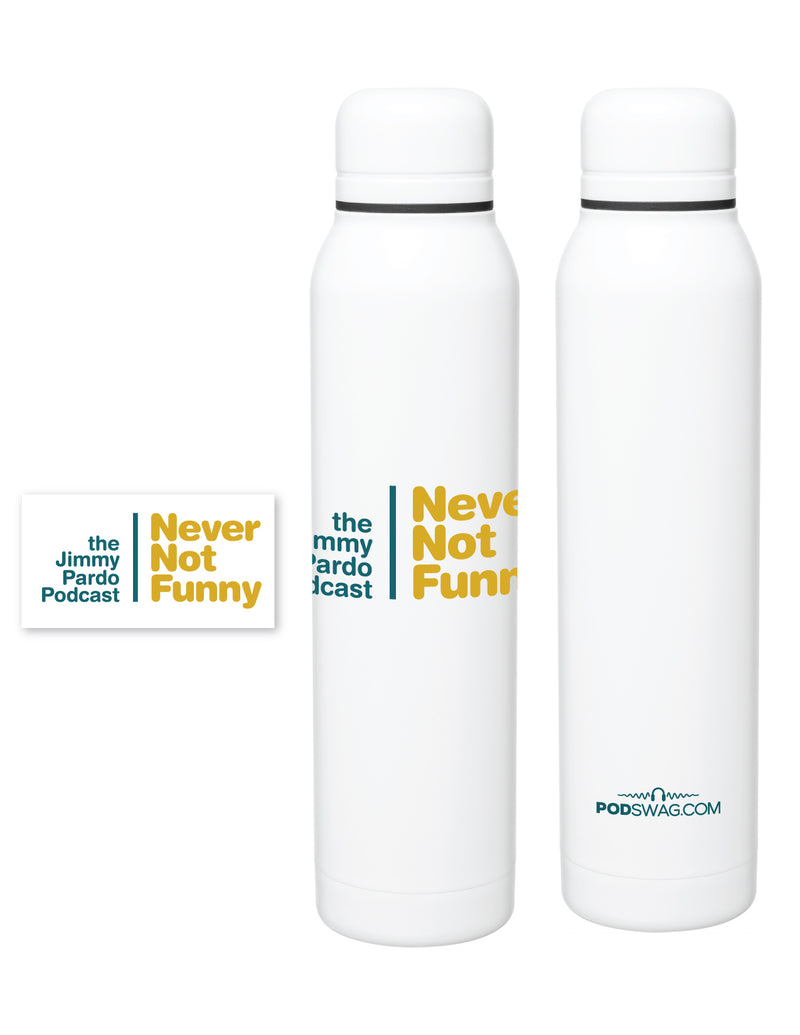 Never Not Funny: Stainless Bottle