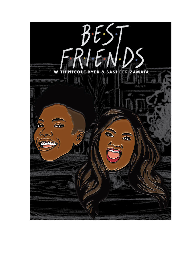 Best Friends: Enamel Pin Set