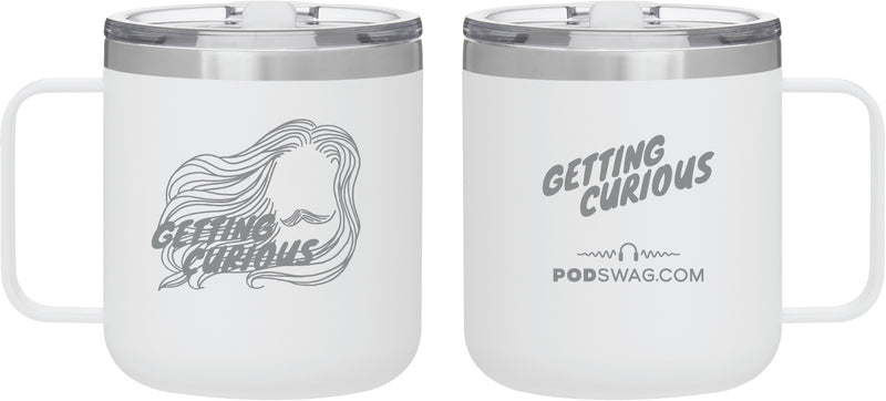 Getting Curious: Stainless Mug